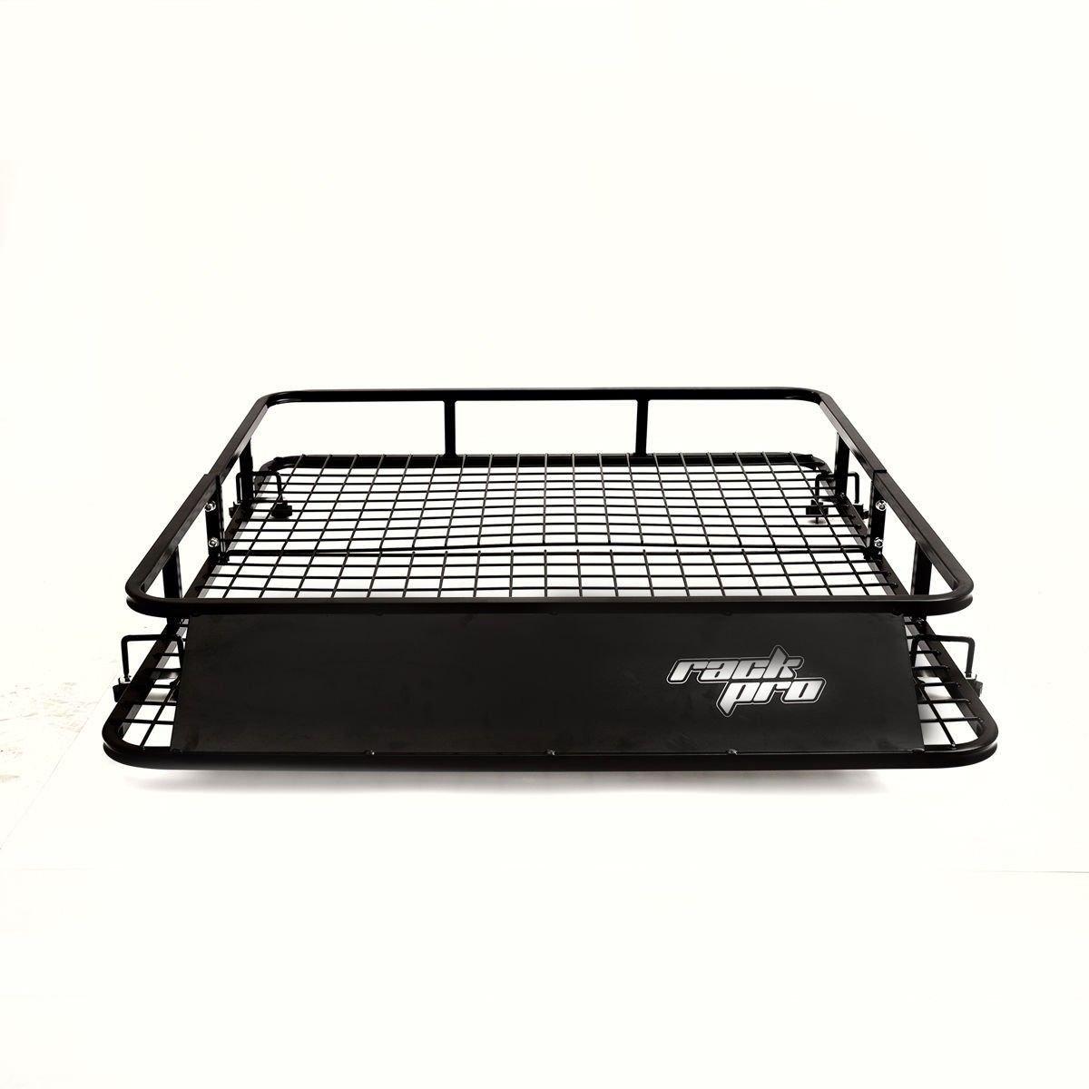 Universal Roof Rack Basket Car Top Luggage Carrier Cargo Holder Travel 48 x 40