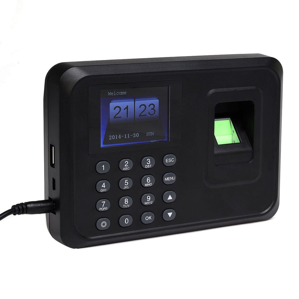 USB TCP-IP Password Fingerprint Time Recorder Clock Attendance Employee