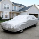 L Size Full Car Cover Waterproof Heat Sun UV Snow Dust Rain Resistant Protection