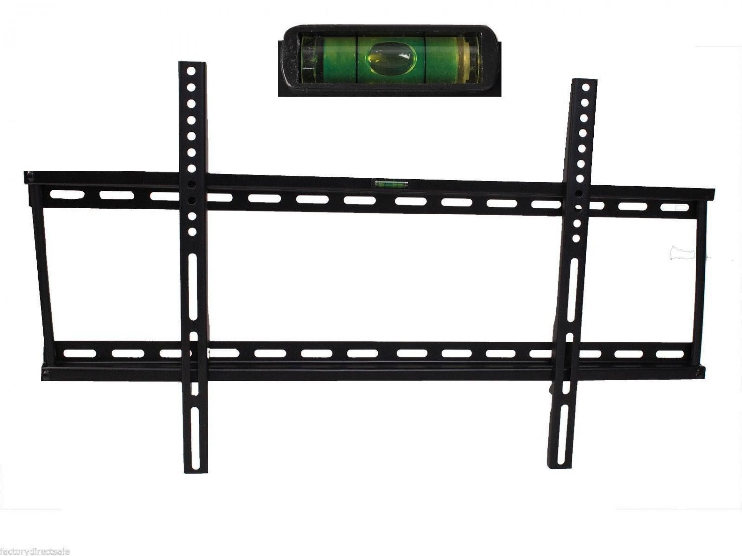 LCD LED Plasma Flat Flush TV Wall Mount Bracket 32 37 40 42 46 50 55 60 65