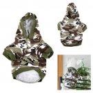 Cat Pet Cotton Camouflage Clothes Uniform Warm Summer T Shirt Coat
