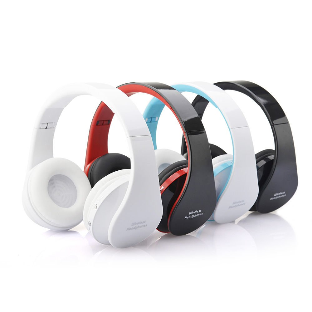 New Foldable Wireless Bluetooth Stereo Headset Handfree Earphone Headphone
