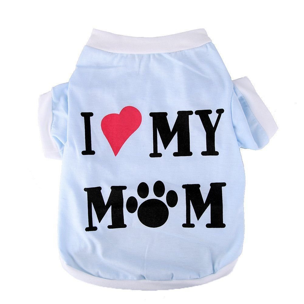 Lovely Cute Small Pet Clothes Cozy Puppy Dogs T Shirt Summer Apparel Vest Dog