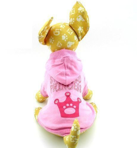 New Hoodie Hooded T shirt Tee puppy small Dog pet clothes - Spoiled Princess