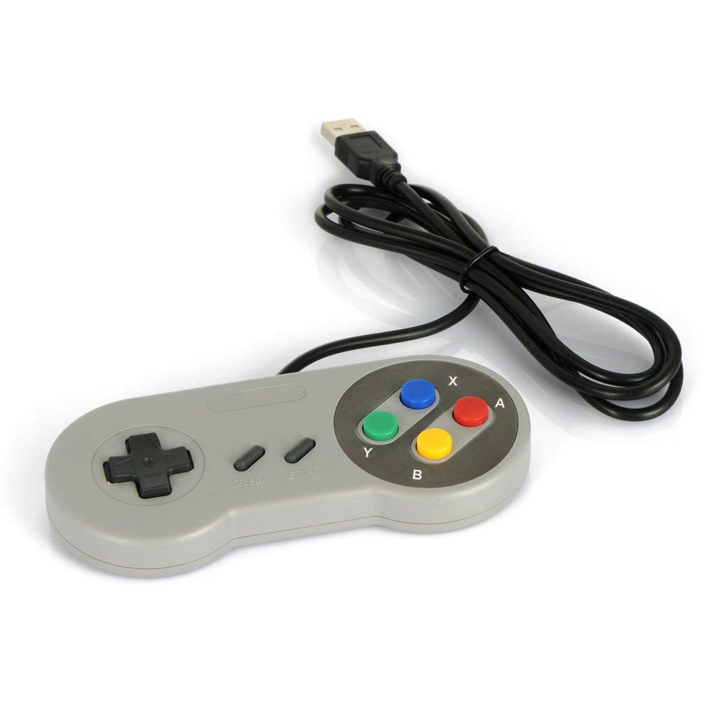 Super Controller USB Gamepad Joypad for Nintendo Windows Mac SF SNES PC F5