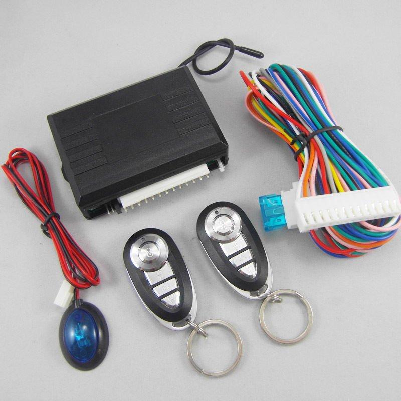 Universal Car Door Entry System Locking Remote Control Central Keyless Lock Kit
