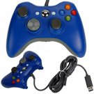 Wired Blue USB Game Pad Joypad Controller For Xbox 360 PC Windows 7