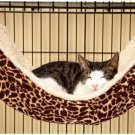 Cat Secure Hammock Kitten Sleep Toys Cradle Fleece Cage Cover