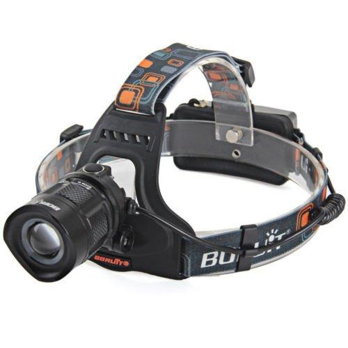 New Boruit RJ 2157 1X Cree XM L2 Waterproof LED HeadLight Headlamp