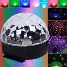 New 20W Lighting Digital LED RGB Crystal Magic Ball Disco DJ Effect Light