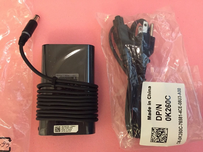 New Genuine Dell Inspiron Laptops Adapter DPN 6TFFF 65W 19.5V