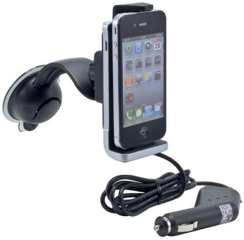 New Black Arkon IPMPWR Supercharge Power Docking Mount for iPhone
