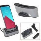 New USB Dual Charging Docking Station Battery Cradle Desk Holder For LG G4