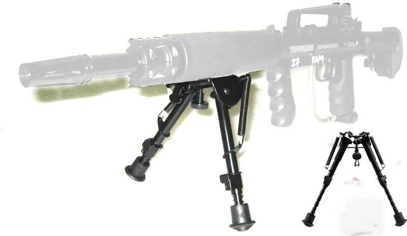 Tactical 5 level 6-9 inch Rifle Bipod Foregrip Mount for Picatinny Rail Adapter