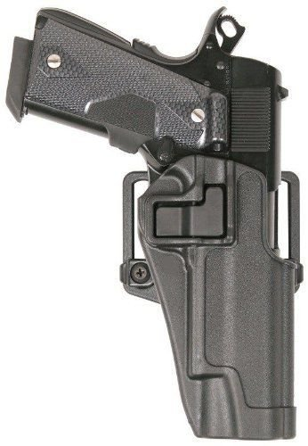New Quick Tactical Holster Right Hand Paddle Belt Holster for Colt 1911 Black
