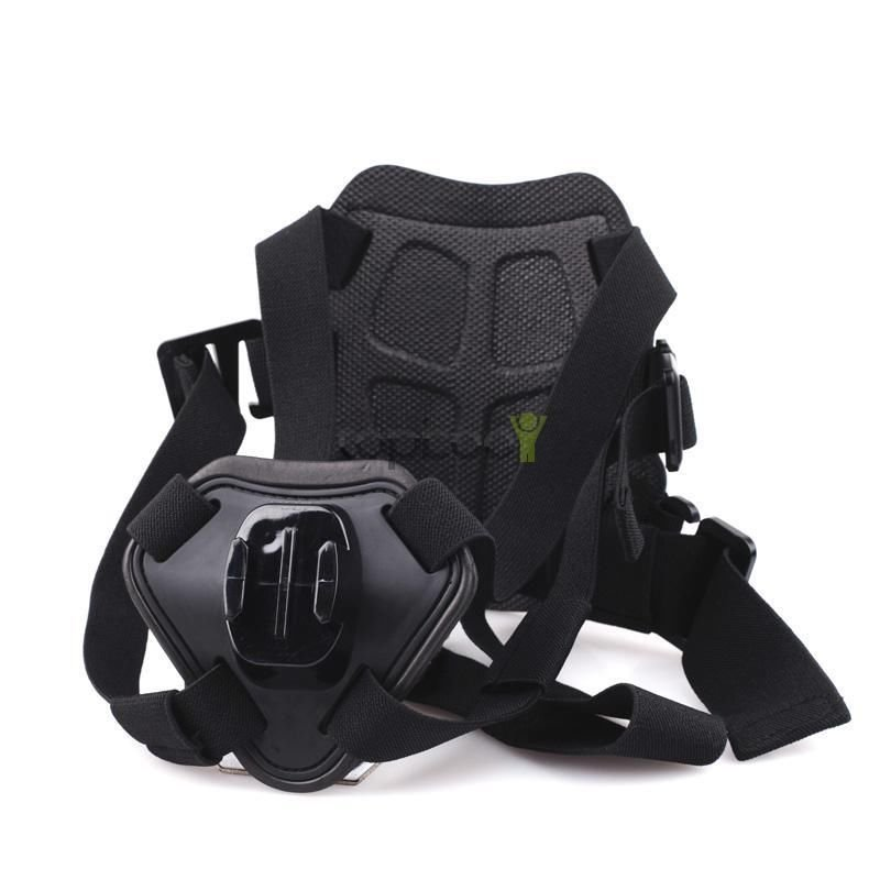 Fetch Dog Harness Chest Shoulder Strap Belt Mount for GoPro Cameras Hero4 3