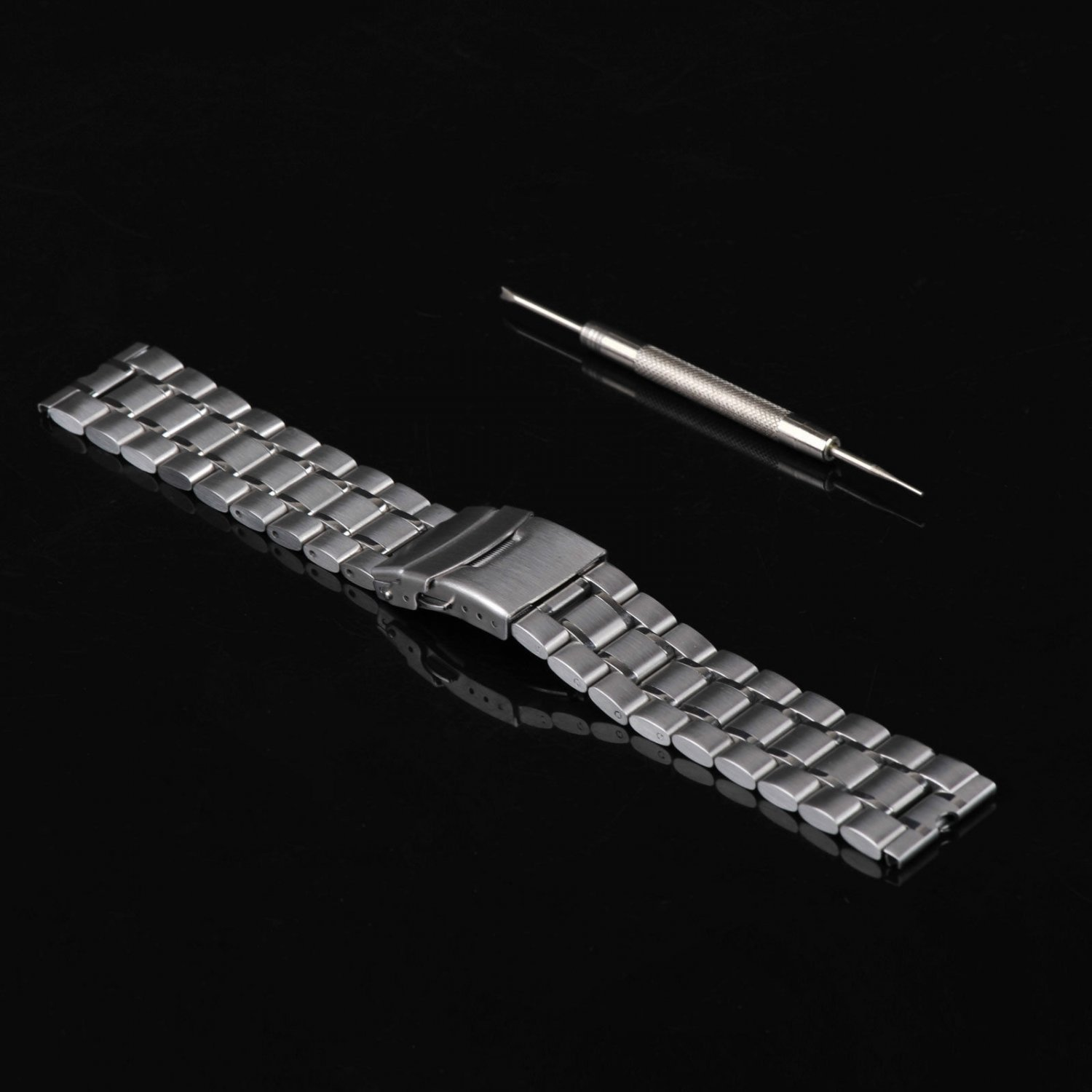 New Stainless Steel Metal Watchband for Motorola Moto 360 Smartwatch Tool