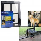 New Medium Pet Dog Cat Door for SCREEN FOR pets 12 x 16 Lockable