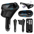 Car Kit MP3 Player Wireless FM Transmitter Modulator LCD USB Charge SD Remote