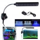 Newest 48 LED Arm Flexible Aquarium Fish Tank Clamp Clip Lamp 3 Modes Led Light
