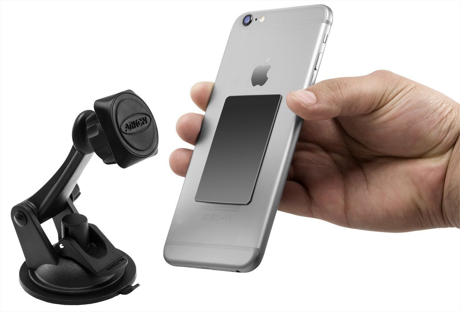New Arkon Magnetic Phone Mount Holder for Galaxy S4, S5, S6 LG G2, G3 iPhone 6