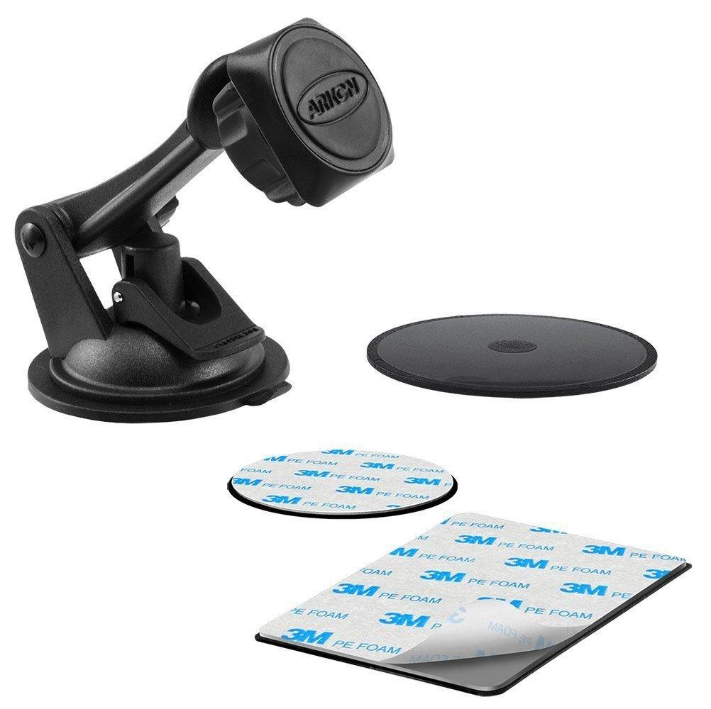 Arkon Magnetic Mount Magnet Car Cell Phone Holder for TomTom GPS Smartphones
