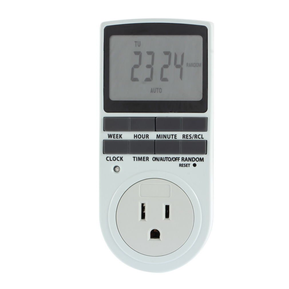New Plug in 7 Day AC Digital LCD Programmable Timer Switch Socket