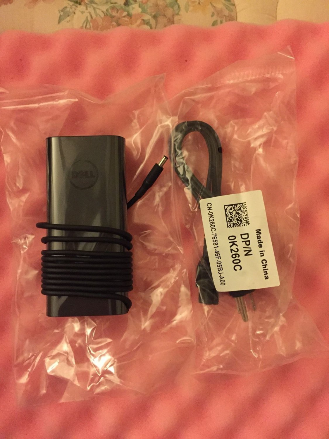 New Dell 130W AC Power Adapter DA130PM130, 0RN7NW, RN7NW, 332-1829