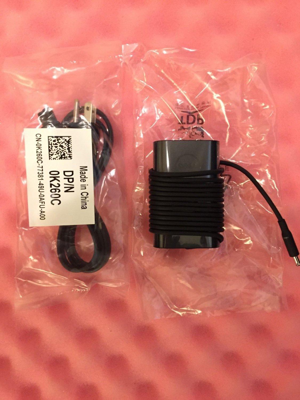 New Original Genuine OEM Dell XPS 12 L221X 45W AC Power Adapter CDF57 LA45NM131