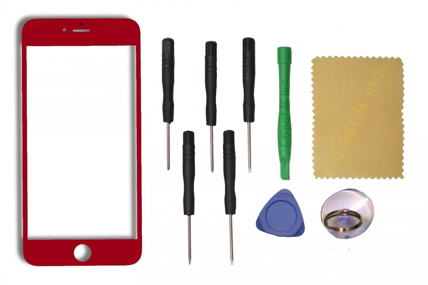 "New OEM Apple iPhone 6 Plus 5.5"" LCD Touch Screen Glass w/Tools Replacement Red"