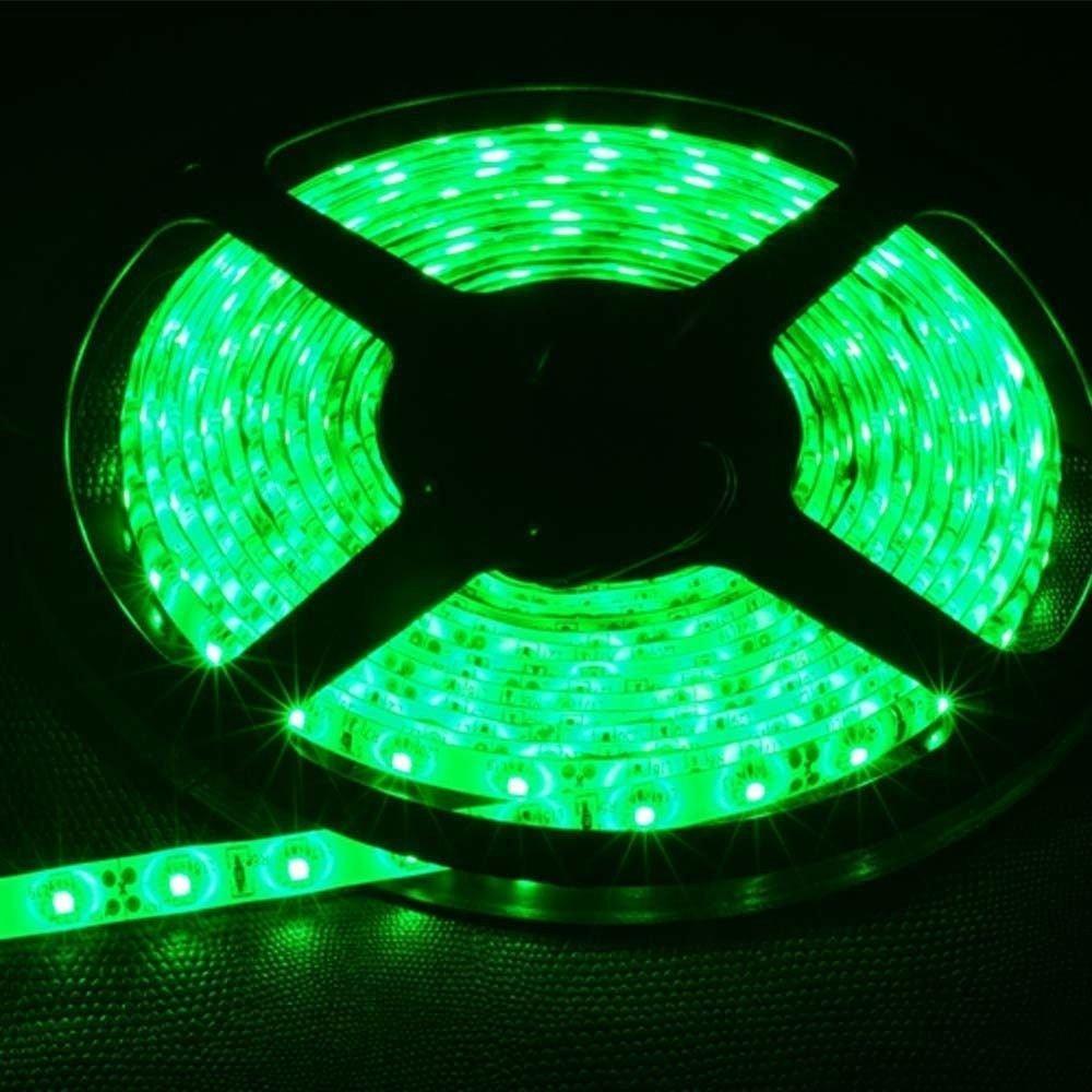 Green 5M Waterproof 3528SMD 300LED Strip Rope Lights