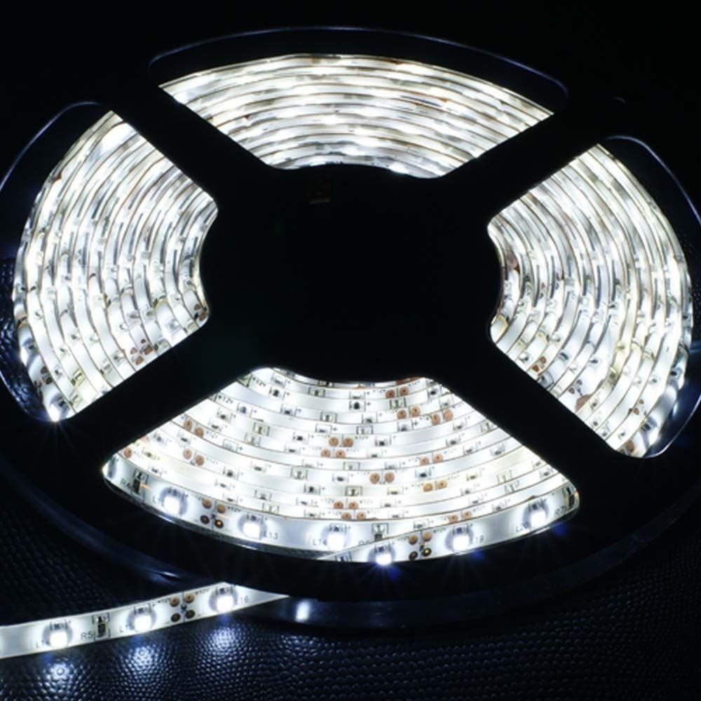 White 5M Waterproof 5050SMD 300LED Strip Rope Lights