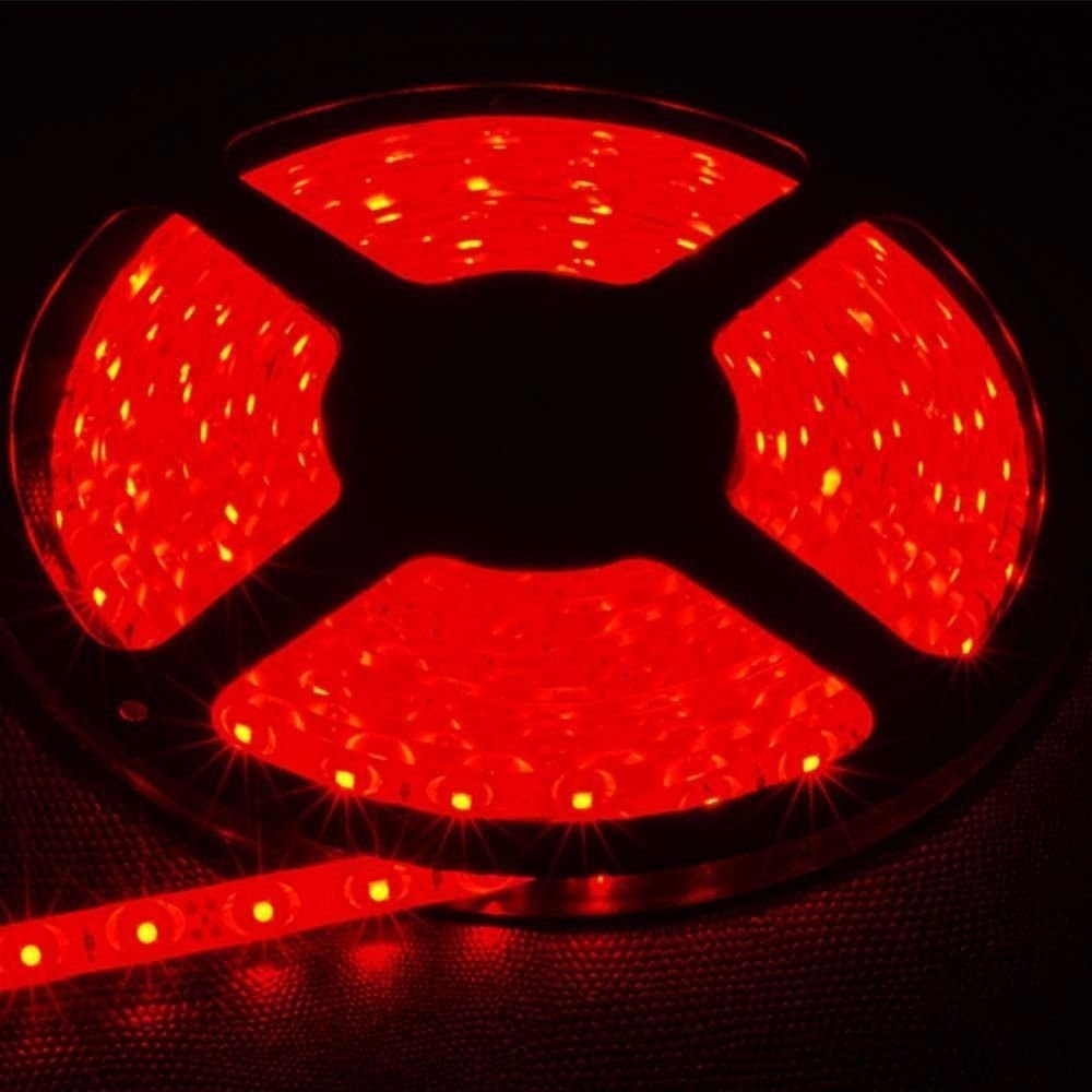 Red 5M Waterproof 5050SMD 300LED Strip Rope Lights