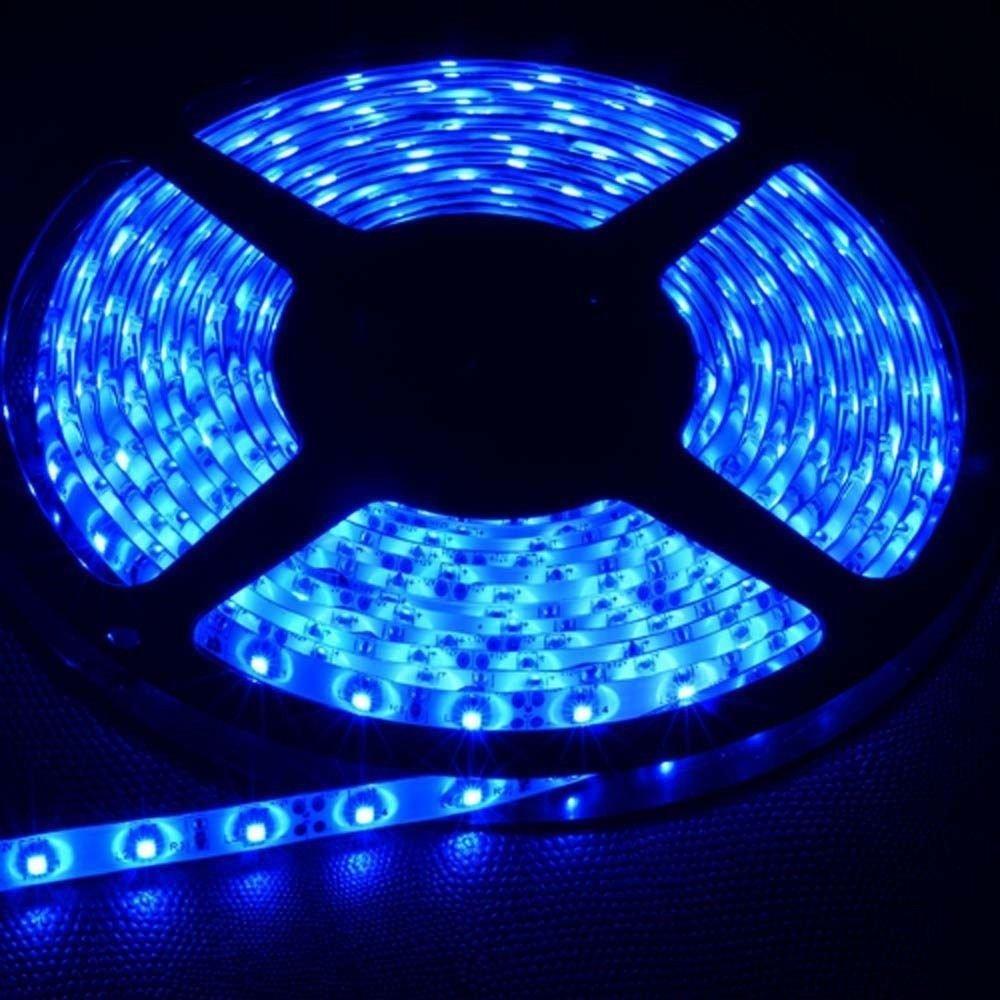 Blue 5M Waterproof 5050SMD 300LED Strip Rope Lights