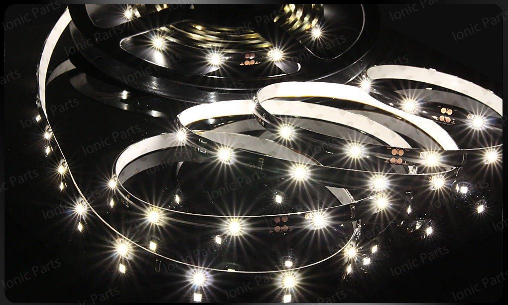 Cool White 5m 3528 5050 SMD LED600 LEDS Waterproof Flexible Light Strip Roll 12V