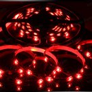 Red 5m 3528 5050 SMD LED 150 LEDS Waterproof Flexible Light Strip Roll12V