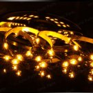Amber 5m 3528 5050 SMD LED 150 LEDS Waterproof Flexible Light Strip Roll12V