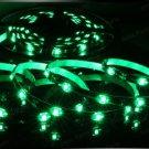 Green 5m 3528 5050 SMD LED 150 LEDS Waterproof Flexible Light Strip Roll12V