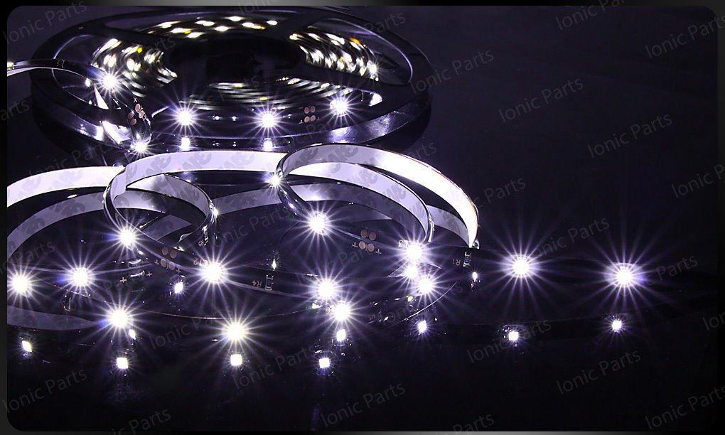 Cool White 5m 3528 5050 SMD LED 300 LEDS Waterproof Flexible Light Strip Roll12V