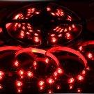 Red 5m 3528 5050 SMD LED 300 LEDS Waterproof Flexible Light Strip Roll12V