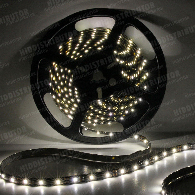 Warm White 5m 16ft Roll 3528 SMD LED 300 LEDs Flexible Waterproof Light Strip12V