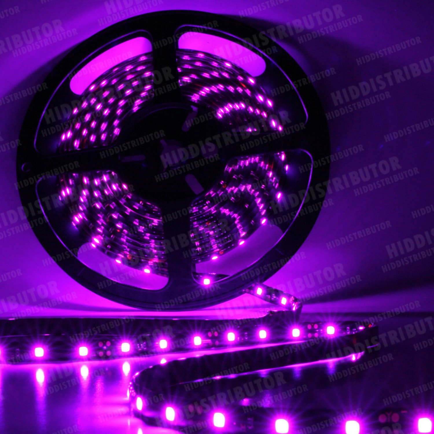 Pink 5m 16ft Roll 3528 SMD LED 300 LEDs Flexible Waterproof Light Strip12V