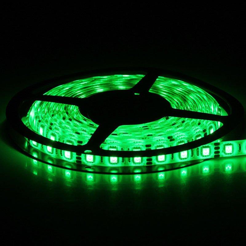 Green 5M 12V IP65 Waterproof 150 LED StripLight 5050 SMD String Ribbon TapeRoll