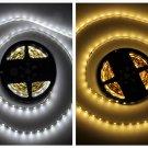 5050 5m 16.4ft Cool White or Warm White 300 LED SMD Flexible Strip Light DC 12V