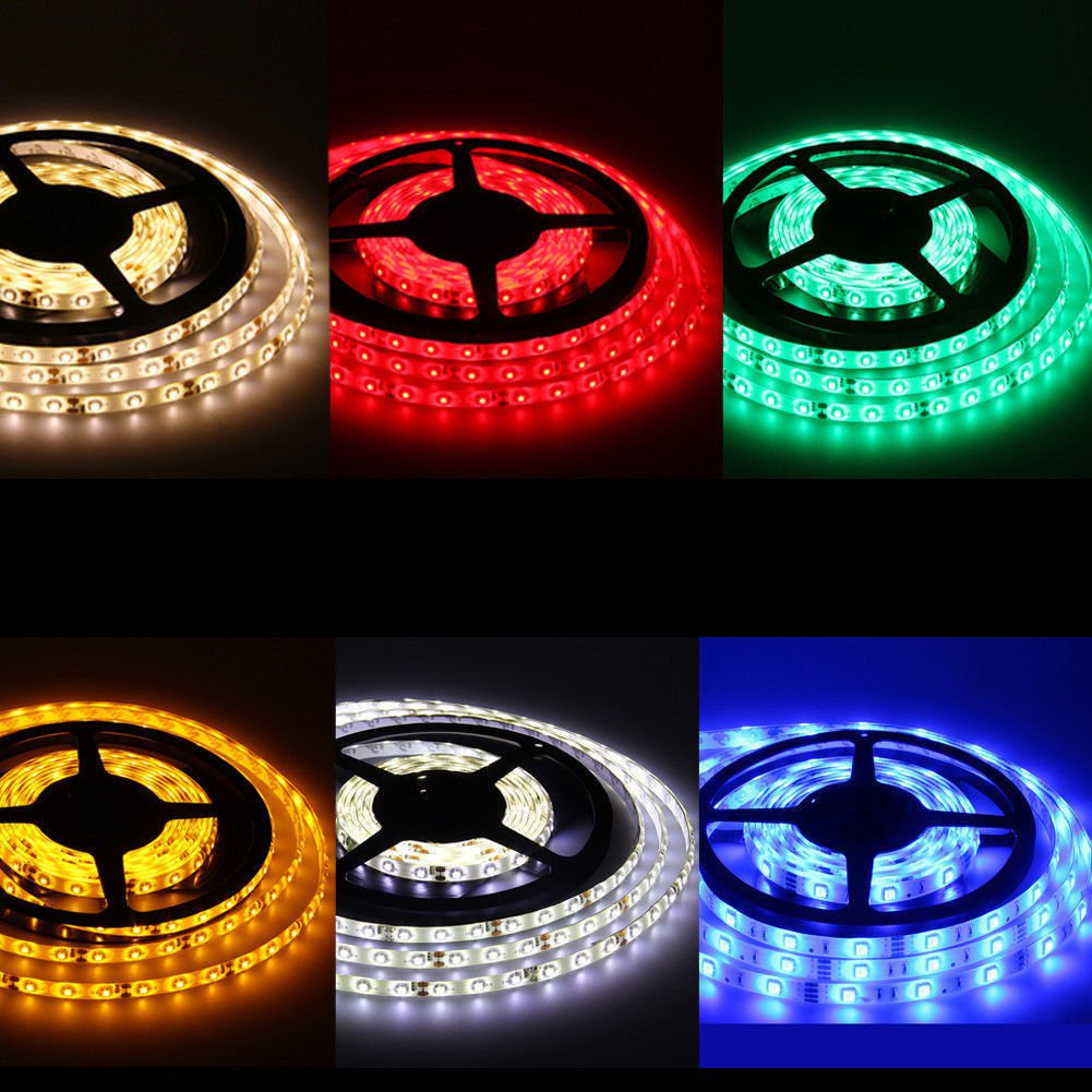 Waterproof Super Bright 5M 3528 SMD 600 LED Flexible Strip light 12V