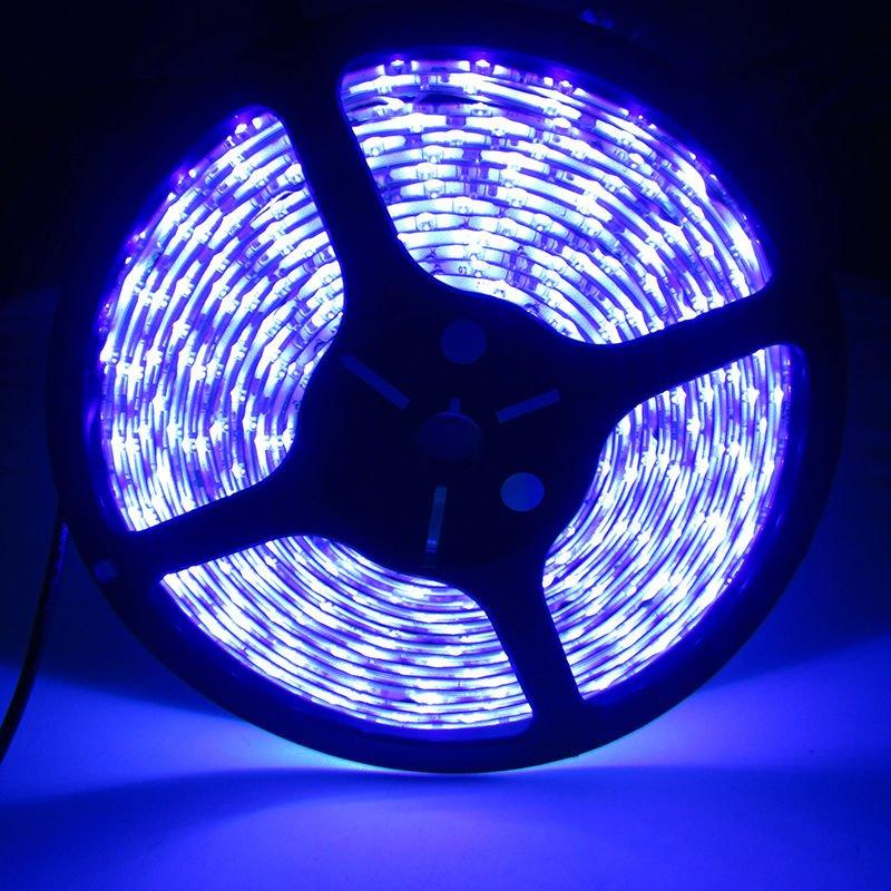 Ultra Violet 5M SMD 5050 LED Strip 300LEDs Waterproof IP65 UV Purple DC 12V