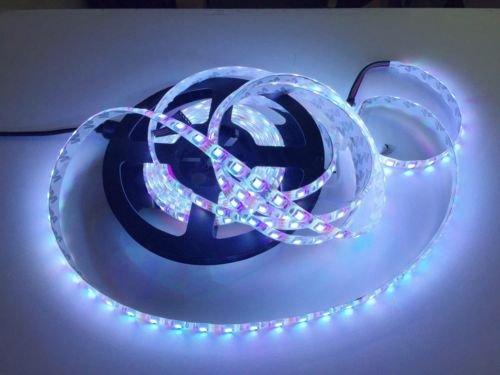 5M SMD 300 RGB 5050 Waterproof LED Strip light 44key IR Remote 12V 5A Power Kit