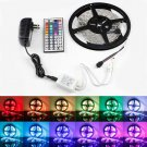 RGB 5M 3528 LED Strip Light 300leds 44key Remote 12V Power Supply