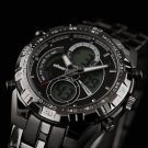 Black Infantry Military Police Design Mens Quartz Date Sport Luxury Wrist Watch