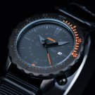 Infantry Mens Date Quartz Army Sports Wrist Watch Tachymeter Black Nylon Strap
